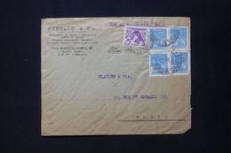 BRÉSIL - Enveloppe Commerciale De Rio De Janeiro Pour Paris En 1937 Par Avion - L 84891 - Covers & Documents