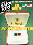 HARA KIRI N° 261 JUIN 1983 EN RELIEF AVEC LUNETTES EN TRES BON ETAT - Humor