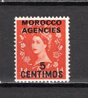 MAROC BUREAUX ANGLAIS  N° 93   NEUF AVEC CHARNIERE   COTE 0.30€     REINE - Uffici In Marocco / Tangeri (…-1958)