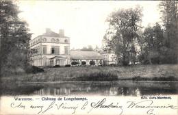 Waremme - Château De Longchamps (Edit Goës-Marchant 1903) - Waremme
