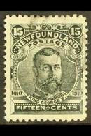 1910 15c Black King George V, Litho Printing, SG 105, Fine Used. For More Images, Please Visit Http://www.sandafayre.com - Zonder Classificatie