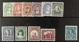 1911-16 Coronation Set, SG 117/127, Fine Mint. (11 Stamps) For More Images, Please Visit Http://www.sandafayre.com/itemd - Zonder Classificatie