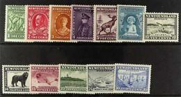 1932 (Jan) Pictorial Set, SG 209/220, Fine Mint. (12 Stamps) For More Images, Please Visit Http://www.sandafayre.com/ite - Zonder Classificatie