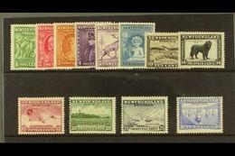 1932 Pictorials Complete Set, SG 209/220, Fine Mint. (12 Stamps) For More Images, Please Visit Http://www.sandafayre.com - Zonder Classificatie