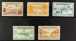 1933 Air Set, SG 230/234, Fine Mint. (5 Stamps) For More Images, Please Visit Http://www.sandafayre.com/itemdetails.aspx - Zonder Classificatie