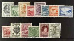 1933 Gilbert Set, SG 236/249, Fine Mint. (14 Stamps) For More Images, Please Visit Http://www.sandafayre.com/itemdetails - Zonder Classificatie