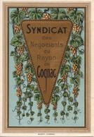 COGNAC - TRIPTYQUE : Syndicat Des Négociants Du Rayon COGNAC (16) - Altri
