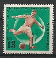 BULGARIA 1961 World Cup Chile'62 - 1962 – Chili