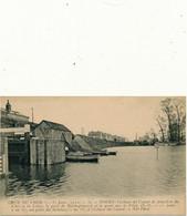 TOURS - Crue Du Cher 1910 - Ecluse De Canal, Rochepinard - Tours