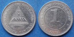 NICARAGUA - 1 Cordoba 2002 KM# 101 Monetary Reform (1912) - Edelweiss Coins - Nicaragua