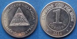 NICARAGUA - 1 Cordoba 2014 KM# 101 Monetary Reform (1912) - Edelweiss Coins - Nicaragua