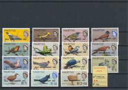 MAURITIUS- 1967 N° 296/310 MNH - Altri