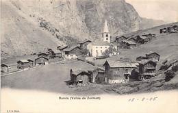 RANDA (VS) Vallée De Zermatt - Ed. C.P.N. 2024 - VS Valais