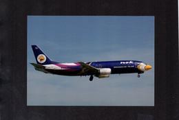 NOK AIR. Boeing B737-4D7 (HS-TDF) - Airplane Postcard (1AK085) - 1946-....: Era Moderna