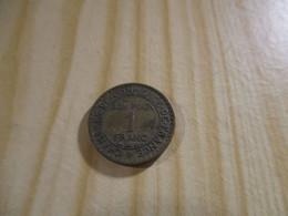 France - 1 Franc Chambres De Commerce 1927.N°1600. - H. 1 Franc