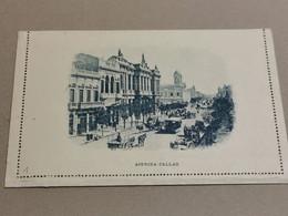 Argentina 1892, Carta Postal  3C Muestra, Avenida Callao. Non Oblitéré - Entiers Postaux