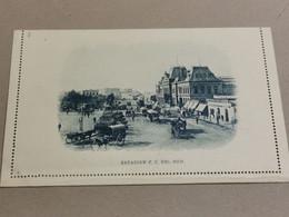 Argentina , Carta Postal  3C Muestra, Estacion F. C. Del Sud. Non Oblitéré - Entiers Postaux