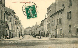 Cpa NANCY 54 Rue Du Ruisseau ( Rare, Rue Charles Keller Vue De La Rue De Metz ) - Nancy