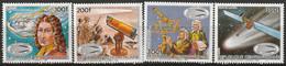 CENTRAFRIQUE - N°714/7 ** (1985) La Comète De Halley - Repubblica Centroafricana