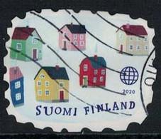 2020 Finland, Welcome To Village, Used. - Gebruikt