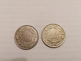 2 Francs Suisse 1979 Et 1988 - Switzerland