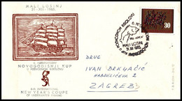 "Yugoslavia 1965, Illustrated Cover ""6th International Spearfishing Cup 1965"" W./ Postmark ""Mali Losinj"" - Covers & Documents"