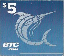 BTC : BAHR11 $5  Marlin (white Logo) No Text USED Exp: 30 NOV 19 - Bahamas