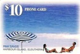 BAHAMAS : BAH20 $10 Pink Sands  GEM1a USED - Bahamas