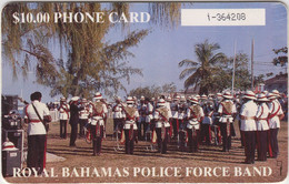 BAHAMAS : BAH06 C $10 ROYAL BAHAMAS POLICE FORCE (white Box) USED - Bahamas