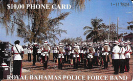 BAHAMAS : BAH06 A $10 ROYAL BAHAMAS POLICE FORCE (black Nr. Rev) USED - Bahamas