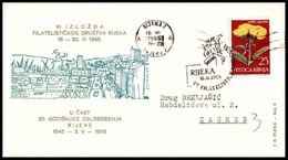 "Yugoslavia 1965, Illustrated Cover ""20 Years Of Liberation Of Rijeka In 1965"" W./ Postmark ""Rijeka"" - Covers & Documents"