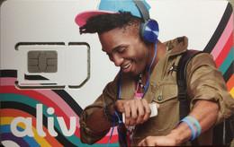 ALIV : BAH-G-5 Sim CARD YOUNG MAN WITH A CAP MINT - Bahamas