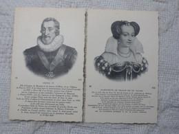 Eb2 - HENRI IV ET MARGUERITE DE FRANCE OU DE VALOIS - Case Reali