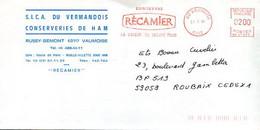Lot 4 EMA,Fima,Générale Sucrière SOL Saint Louis,SICA Conserveries De Ham,Conserves Récamier - EMA (Printer Machine)