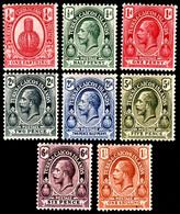 Turks & Caicos Islands 1921 SG 154-161 Set Of 8  Mult Script CA Perf 14  Mint1 - Andere