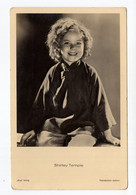 1930s. USA, SHIRLEY TEMPLE, 20th CENTURY FOX, ACTRESS, ISSUED BY 'ROSS' VERLAG, REPRINTING PROHIBITED,POSTCARD,MINT - Artisti