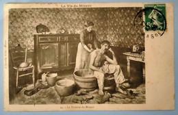 Carte Postale Ancienne -Série - La Vie Du Mineur - N°24 - La Toilette Du Mineur - Mijnen