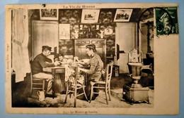 Carte Postale Ancienne -Série - La Vie Du Mineur - N°25 - Le Mineur En Famille - Mijnen