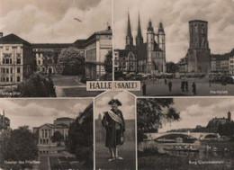 Halle - U.a. Theater Des Friedens - 1959 - Halle (Saale)