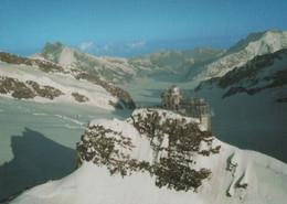 Schweiz - Jungfraujoch - Flugaufnahme - Ca. 1985 - Altri