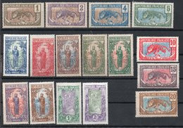 Congo N°48 à 63 N* TB  Cote 73 Euros !!! - Ongebruikt