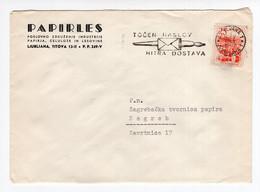 1963. YUGOSLAVIA,SLOVENIA,LJUBLJANA,PAPIRLES HEADED COVER,FLAM:CORRECT ADDRESS, QUICK DELIVERY - Covers & Documents