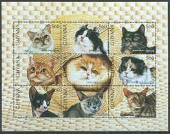 1996Guyana5662-5670KLCats8,50 € - Hauskatzen