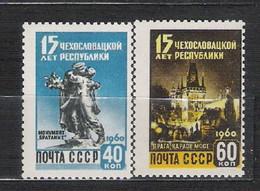 URSS - 1960 - N. 2276/77** (CATALOGO UNIFICATO) - Nuovi