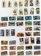 Lot De 8 Séries (106 Timbres) Année 2010 (voir Description) - Autoadesivi