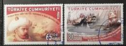 Turquie 2008 / Yvert N°3393-3394 / Used - Gebruikt