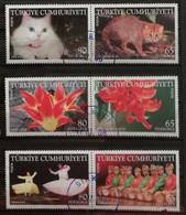 Turquie 2008 / Yvert N°3399-3401 + 3403-3406 / Used - Gebruikt