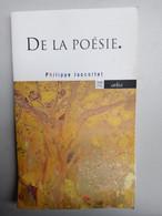 De La Poésie - Philippe Jaccottet/ Arléa, 2020 - Zonder Classificatie