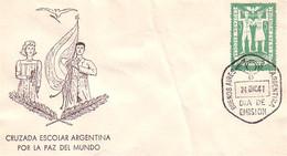 Argentina FDC Peace In The World Paix Dans Le Monde Paz Del Mundo 24 DEC 1947 (A90-584) - Sin Clasificación