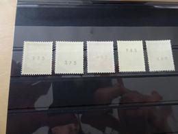Bund 506/10 Brandenburger Tor Postfrisch Mit Nummer (13276) - Rollo De Sellos